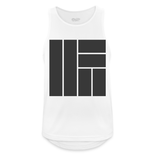 NÖRCup Black Iconic Edition - Men's Breathable Tank Top