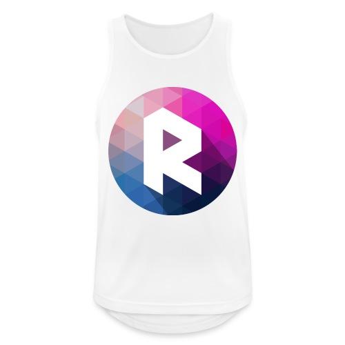 radiant logo - Men's Breathable Tank Top