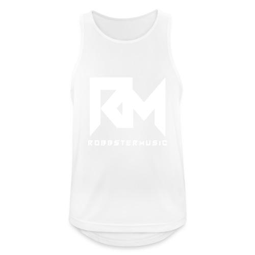Original RM-Logo White - Männer Tank Top atmungsaktiv