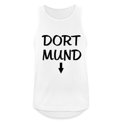 Dortmund Witzig Weiß - Männer Tank Top atmungsaktiv