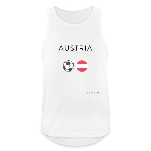 Austria Fußball - Männer Tank Top atmungsaktiv