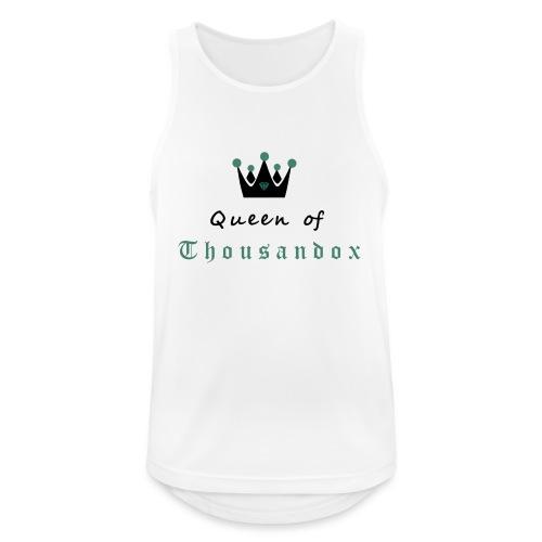 Queenofthousandox - Männer Tank Top atmungsaktiv