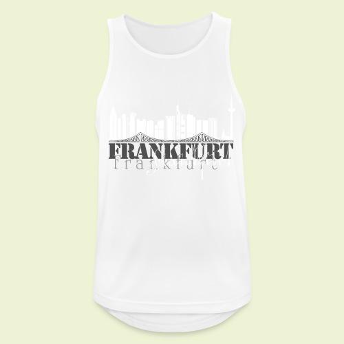 FFM - Frankfurt Skyline - Männer Tank Top atmungsaktiv
