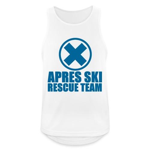 apres-ski rescue team - Men's Breathable Tank Top