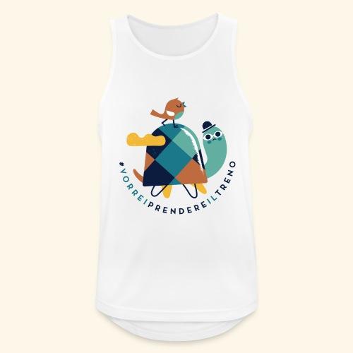 Tartaruga e uccellino - Canotta da uomo traspirante