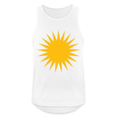 Kurdische Sonne Symbol - Männer Tank Top atmungsaktiv