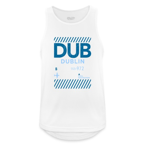 Dublin Ireland Travel - Men's Breathable Tank Top