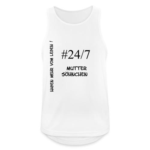 Muttersöhnchen - Männer Tank Top atmungsaktiv