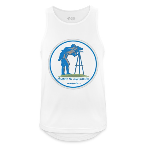 Logo Capture the Moment - Men's Breathable Tank Top