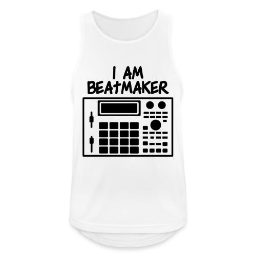 i am beatmaker - Débardeur respirant Homme
