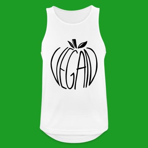 Vegan Apple - Débardeur respirant Homme