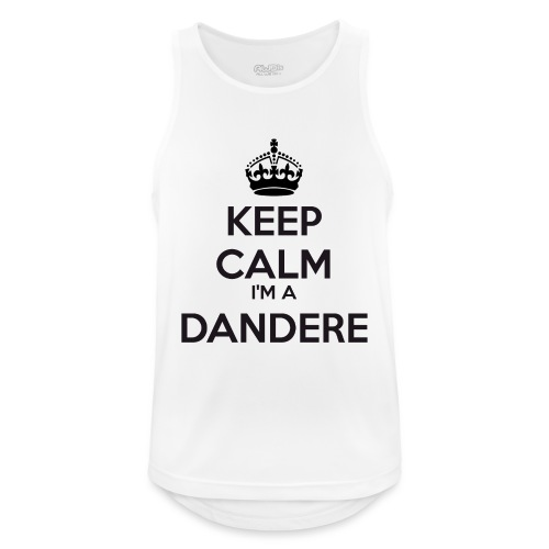 Dandere keep calm - Men's Breathable Tank Top