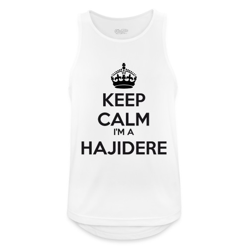 Hajidere keep calm - Men's Breathable Tank Top