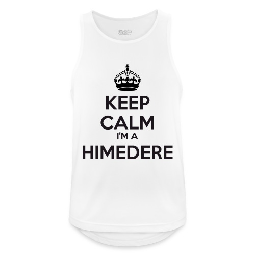 Himedere keep calm - Men's Breathable Tank Top