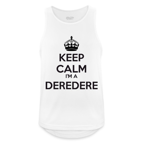 Deredere keep calm - Men's Breathable Tank Top
