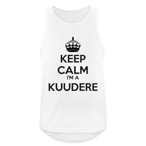 Kuudere keep calm - Men's Breathable Tank Top