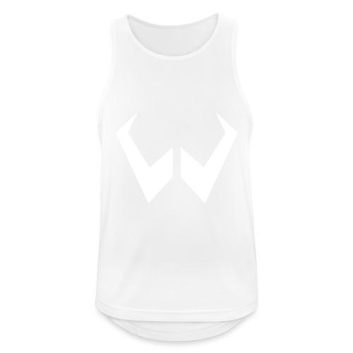 logo de without gravity pk - Camiseta sin mangas hombre transpirable