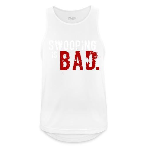 Swooping is Bad Design - Men's Breathable Tank Top