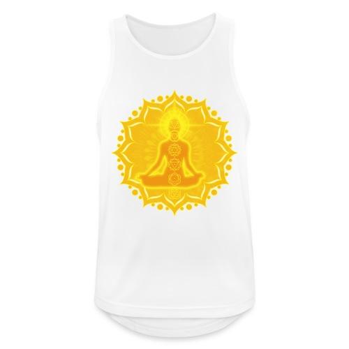 Yoga Lotus Meditation Chakren III - Männer Tank Top atmungsaktiv