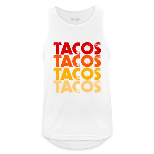 Tacos - Männer Tank Top atmungsaktiv