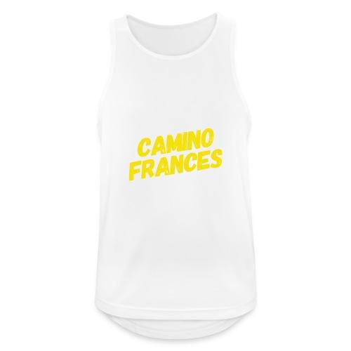 Camino Frances - Männer Tank Top atmungsaktiv