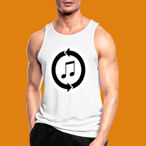 music, renew music, music, t-shirt music - Men's Breathable Tank Top
