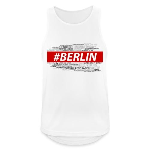 Hashtag Berlin - Männer Tank Top atmungsaktiv