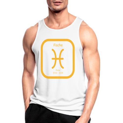 Horoskop Fische12 - Männer Tank Top atmungsaktiv