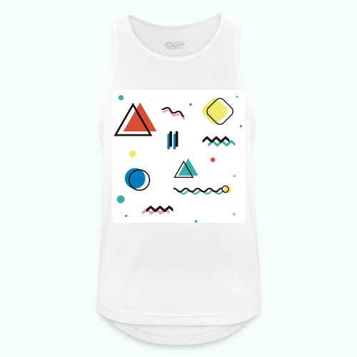 Abstract geometry - Men's Breathable Tank Top
