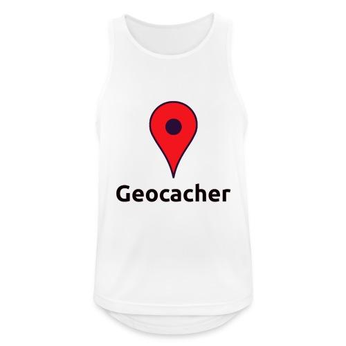 Geocacher - Männer Tank Top atmungsaktiv
