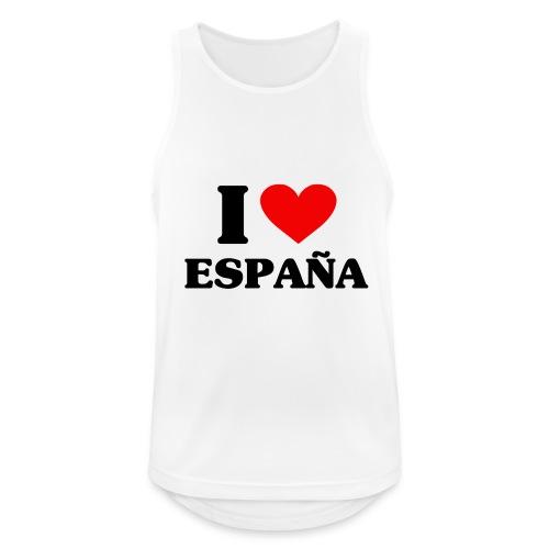 I love Espana - Männer Tank Top atmungsaktiv