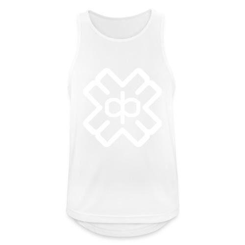 d3eplogowhite - Men's Breathable Tank Top