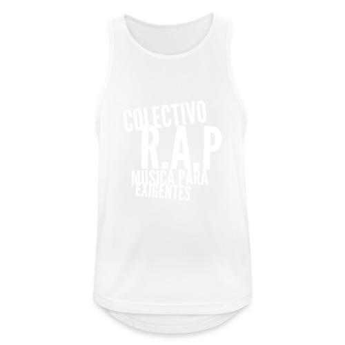 SOLO PARA AMANTES DEL RAP// Colectivo R.A.P - Camiseta sin mangas hombre transpirable