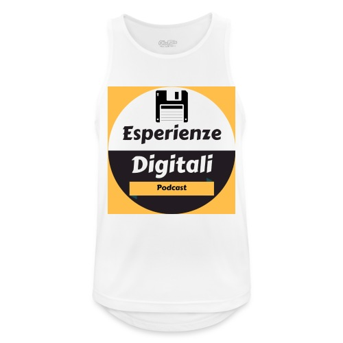 Logo Esperienze Digitali - Canotta da uomo traspirante