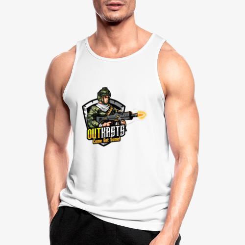 OutKasts [OKT] Logo 2 - Men's Breathable Tank Top