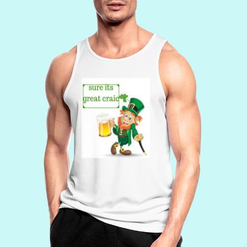 sure its great craic - Men's Breathable Tank Top