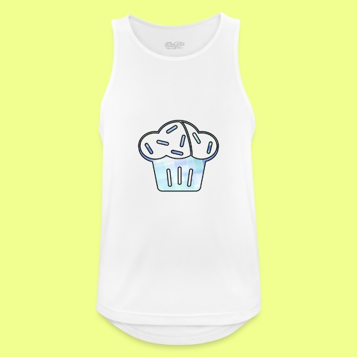 Pastel - Camiseta sin mangas hombre transpirable