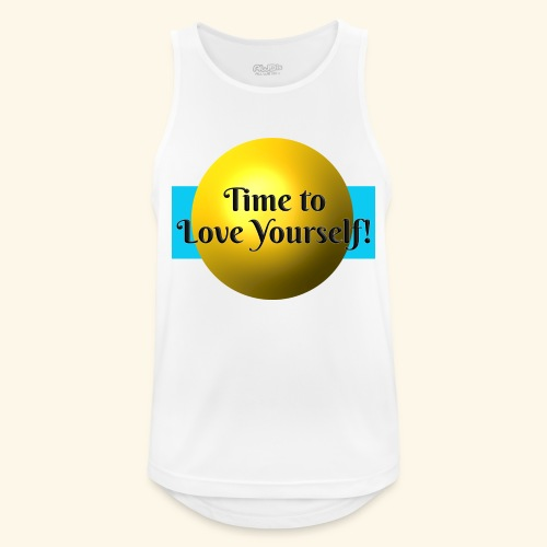 Time to Love Yourself - Männer Tank Top atmungsaktiv