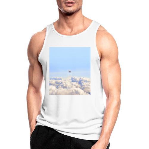 Launch - Camiseta sin mangas hombre transpirable