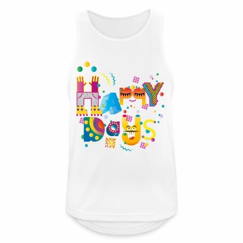 Happy happy days - Men's Breathable Tank Top