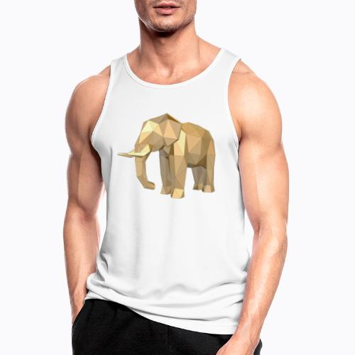 elephant geometric - Men's Breathable Tank Top