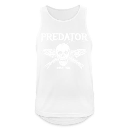 Predator Fishing T-Shirt - Männer Tank Top atmungsaktiv