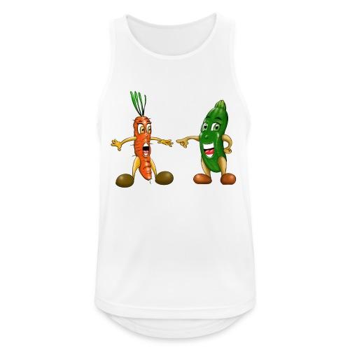 Les légumes du bébé et des végans - Débardeur respirant Homme