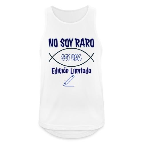 Edicion limitada - Camiseta sin mangas hombre transpirable