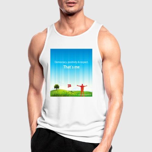 Rolling hills tshirt - Herre tanktop åndbar