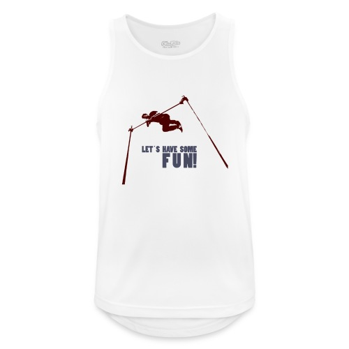 Let s have some FUN - Mannen tanktop ademend actief