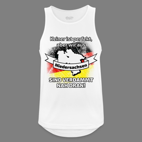 Perfekt Niedersachsen - Männer Tank Top atmungsaktiv