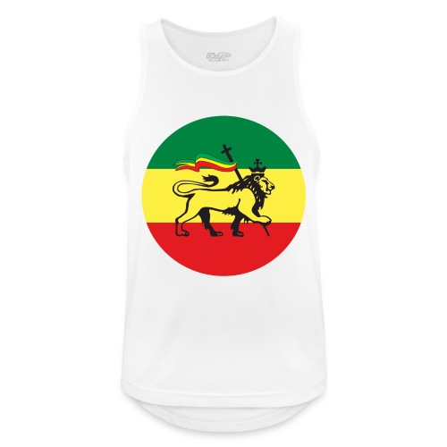 Lion of Judah - Ethiopia - Männer Tank Top atmungsaktiv