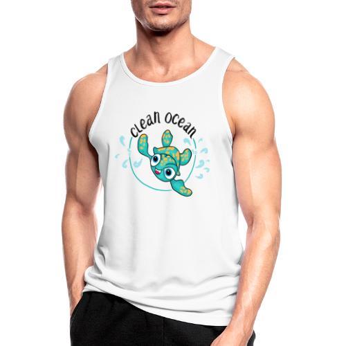 Clean Ocean - Men's Breathable Tank Top