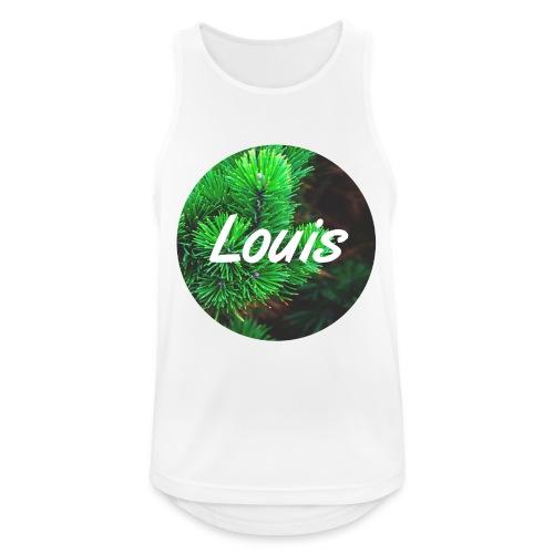 Louis round-logo - Männer Tank Top atmungsaktiv